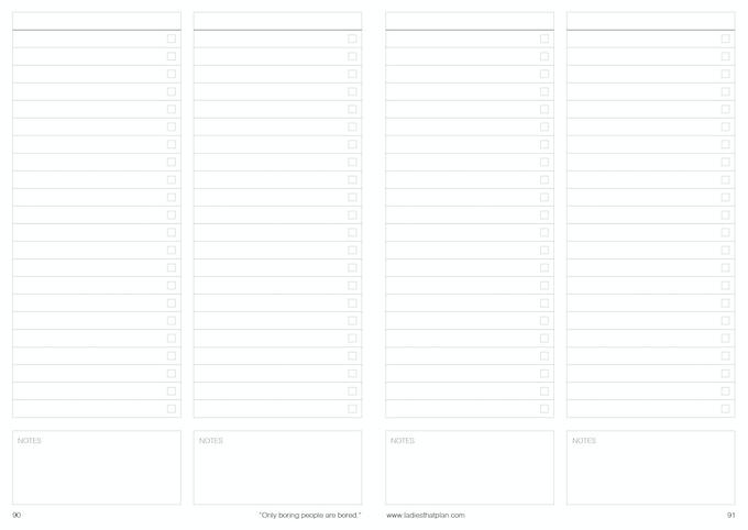 Wish Lists, To Do Lists, Reading Lists... Lists Galore!