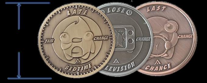 Stop offering nine coins