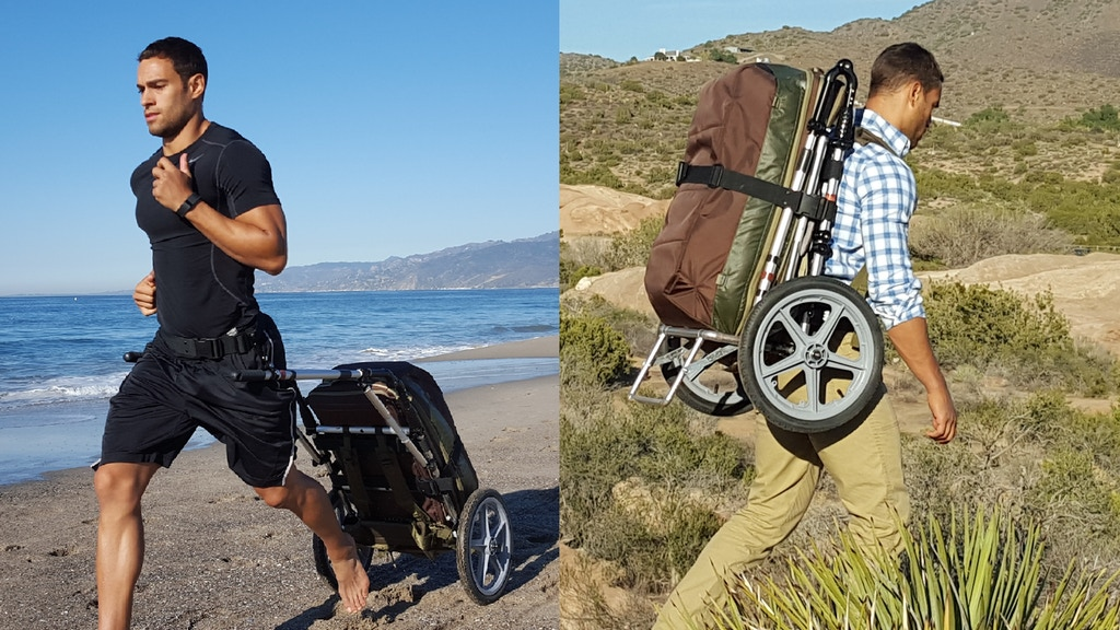 HipStar: The World's Best Hands-Free Travel Cart