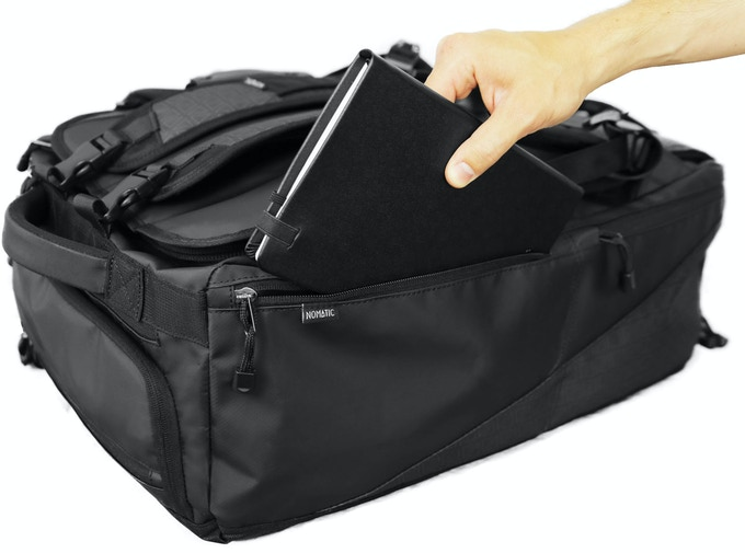 When The Bag Is Worn In Backpack Mode This Pocket Easily Accessible Making It Perfect Place For Frequently Needed Travel Doents