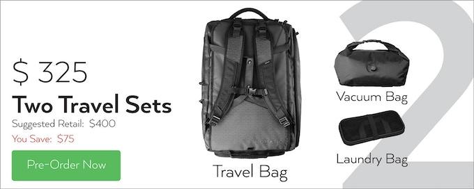 df424c12b4 The NOMATIC Travel Bag by NOMATIC — Kickstarter