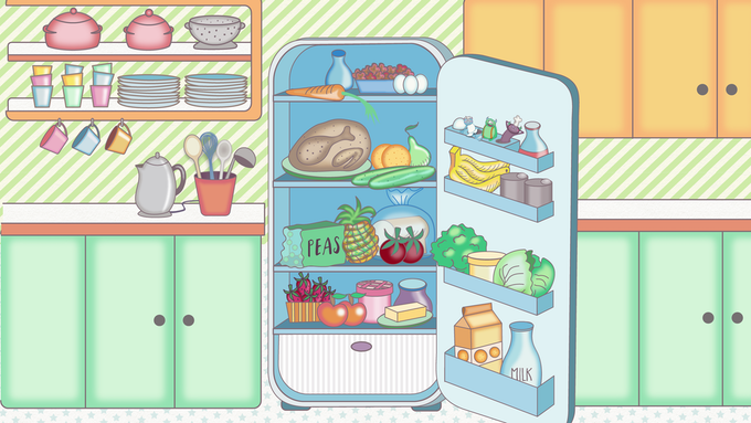 Spot the Meal Monsters in your fridge!