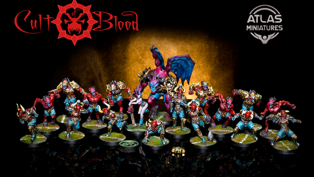 Cult of Blood Fantasy Football - Atlas Miniatures project video thumbnail
