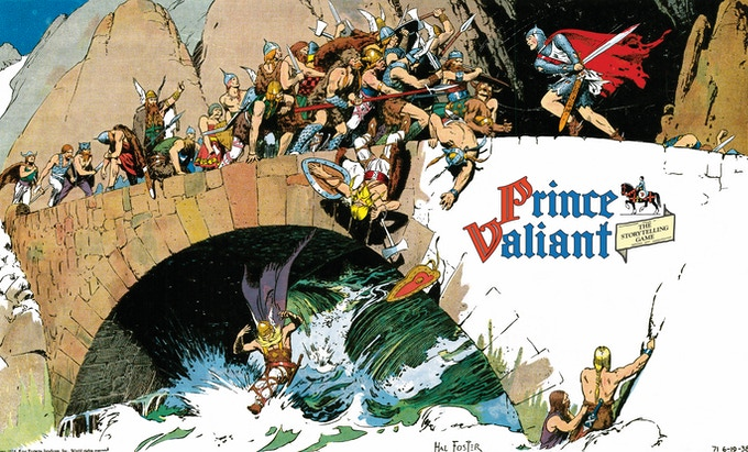 Wraparound Cover for Prince Valiant® The Storytelling Game