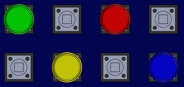 Interchangeable and Removable Buttons
