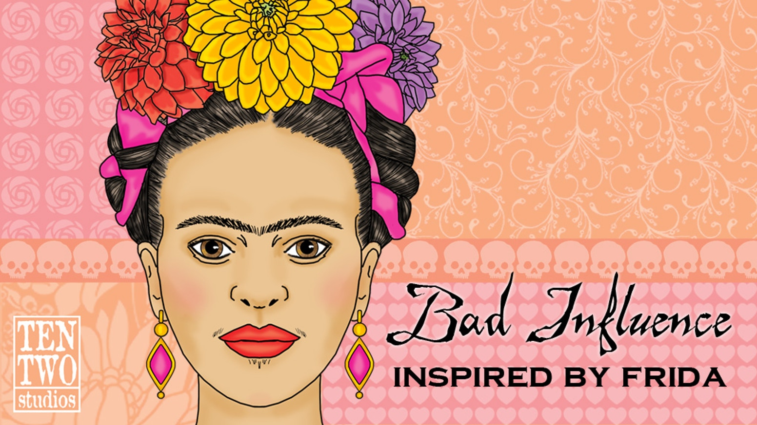It's time for a new issue of my randomly published 'zine, Bad Influence. Everything in this issue will be inspired by Frida Kahlo!