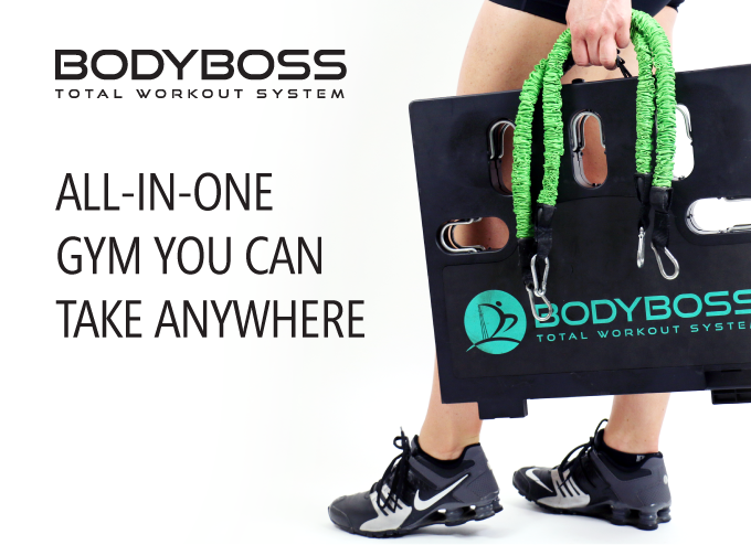 Bodyboss the world s st home gym you can take