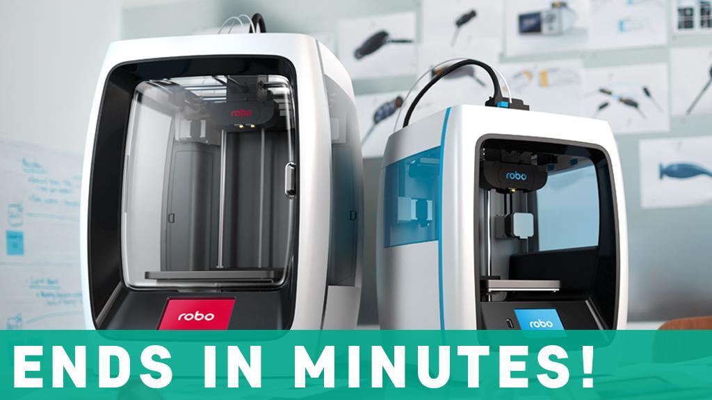 Robo C2 and Robo R2 Smart 3D Printers project video thumbnail