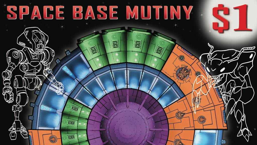 Space Base Mutiny - The $1 Game! project video thumbnail