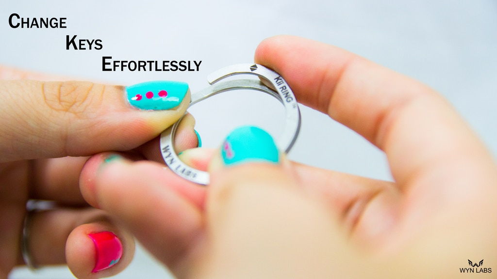 Kii RING - An Effortless Key Ring project video thumbnail