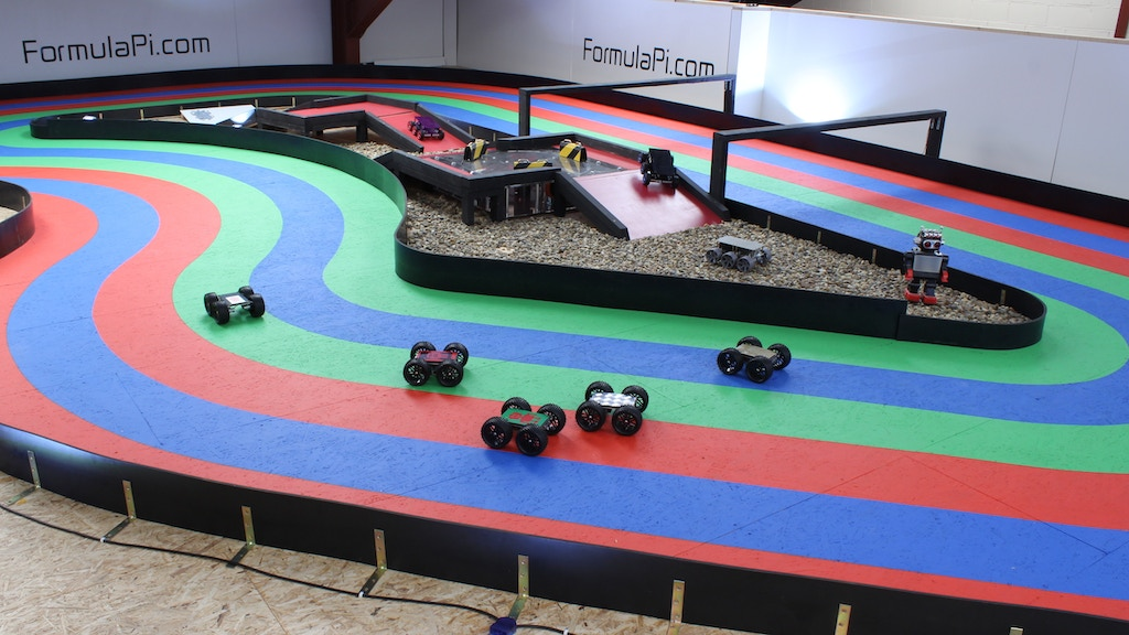 Formula Pi - Self-driving robot racing with the Raspberry Pi project video thumbnail