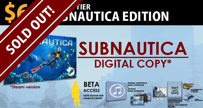 $65 SUBNAUTICA Edition = LIMITED! Get a copy of SUBNAUTICA to be delivered via Steam + All items in Legion Edition.