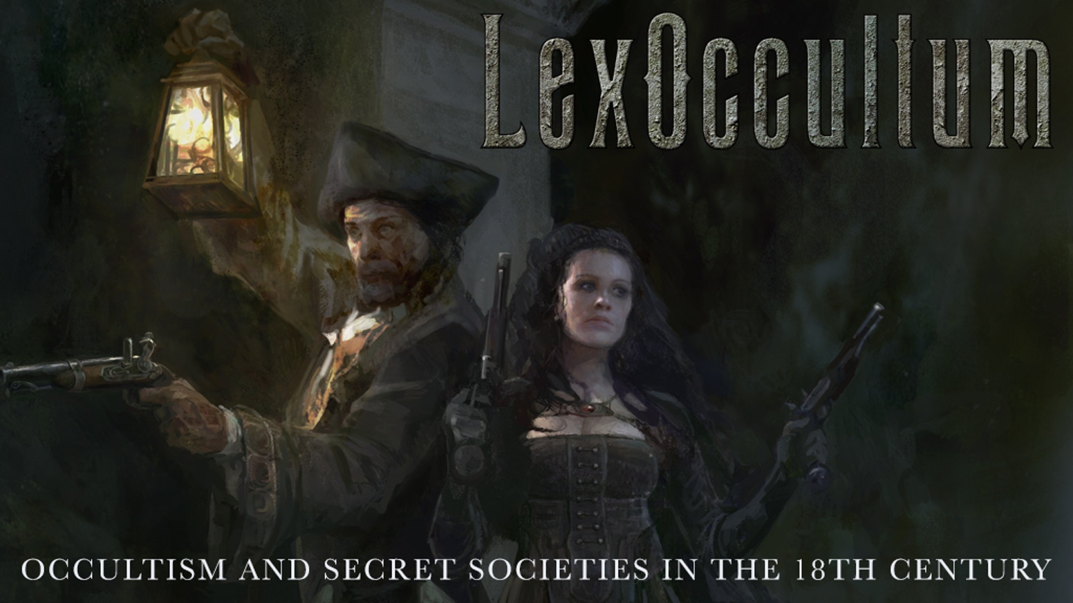 LexOccultum  -  AWARD WINNING GAME about occultism, mysteries and secret societies in an 18th century setting. Load your flintlocks!