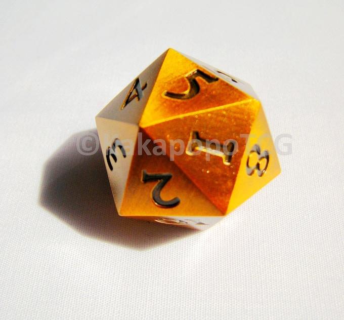 The Golden Dice (Prototype Photo)