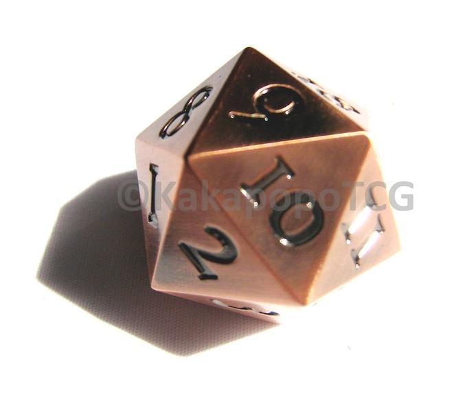 The Copper Dice (Prototype Photo)