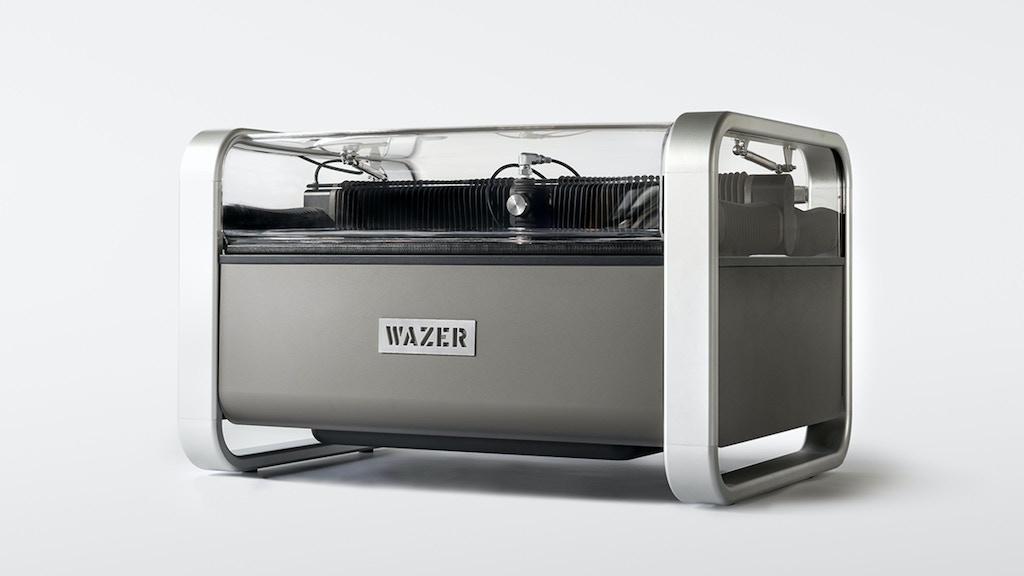 The First Desktop Waterjet Cutter project video thumbnail