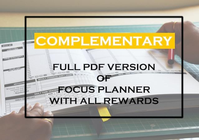 Current image in full focus planner pdf