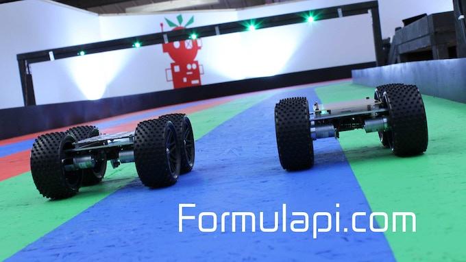 Formula Pi YetiBorgs on track