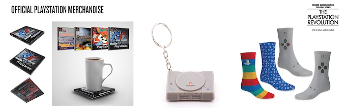 Exclusive Official PlayStation Merchandise
