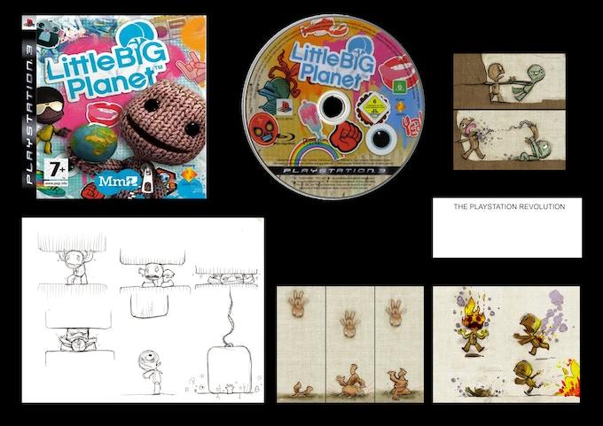 Exclusive Little Big Planet Signed Concept Art!