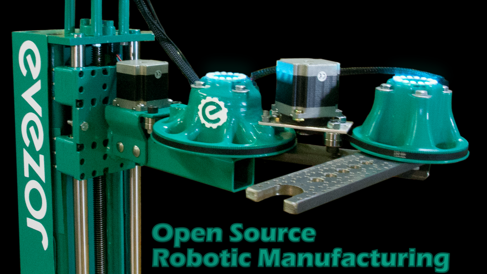 Another open source robotic arm project, might be