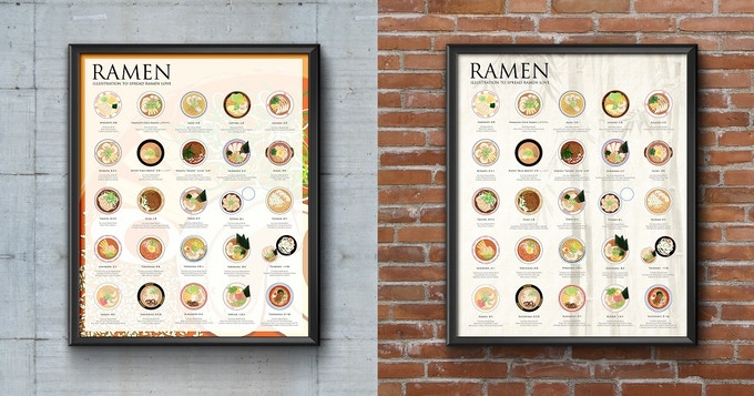 The Ramen Poster (16x20) - Festival OR Traditional Version