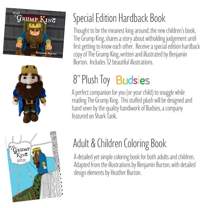 The Grump King (Children's Book) by Benjamin Burton — Kickstarter