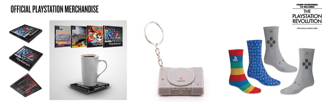 Official PlayStation Merchandise Available!