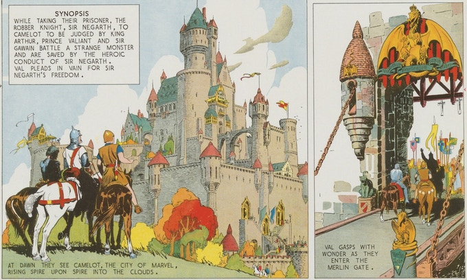 June 19, 1937: Val's first vision of Camelot.
