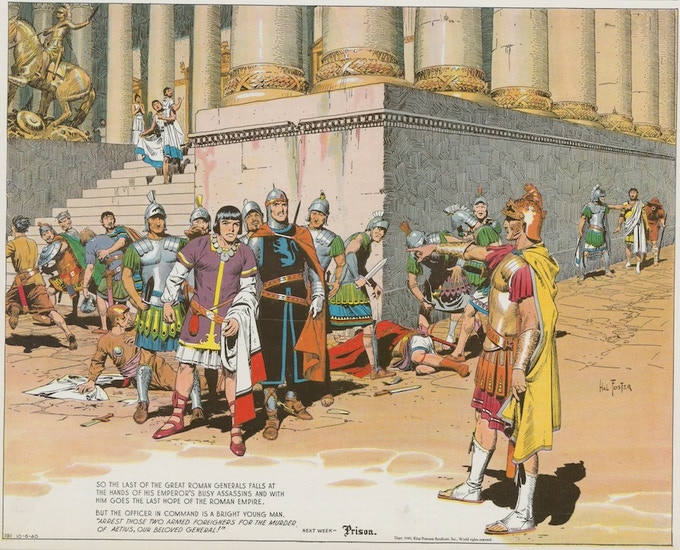 October 6, 1940: Prince Valiant in Rome.