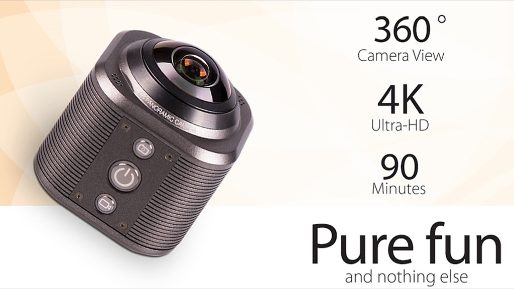 Camorama: The 4K Action VR & 360 Degree Cam Made For Sharing project video thumbnail