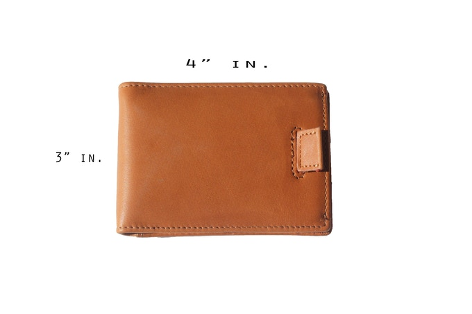 The size of the new wallets!