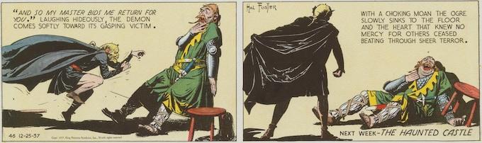 December 25, 1937: Elements of the supernatural!