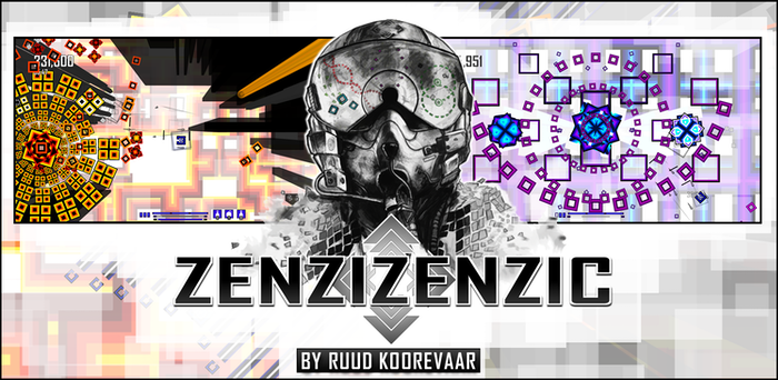 Zenzizenzic is an adrenaline fueled twin-stick shoot 'em up. Weave through intricate bullet patterns and expertly dispatch your foes!