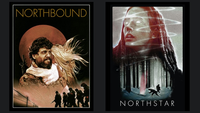 Poster Artwork for Northbound, Season 2 and the Northstar Feature Film by Northstar Saga Co-Creator Nathan Anderson
