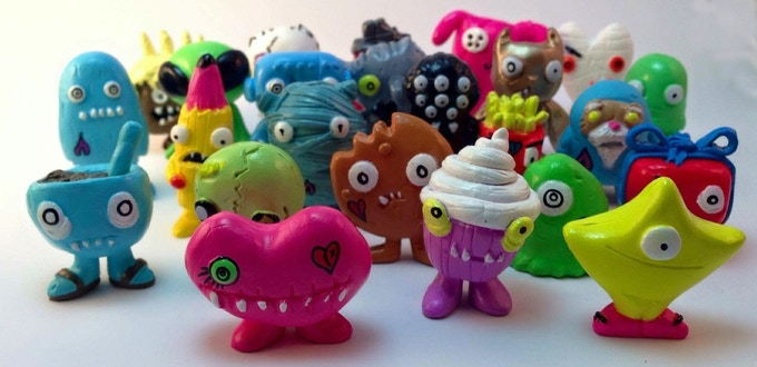 Collect the entire series 1 set of 48 Creeplings!