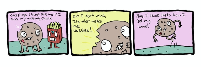 Creeplings comics are fun too!