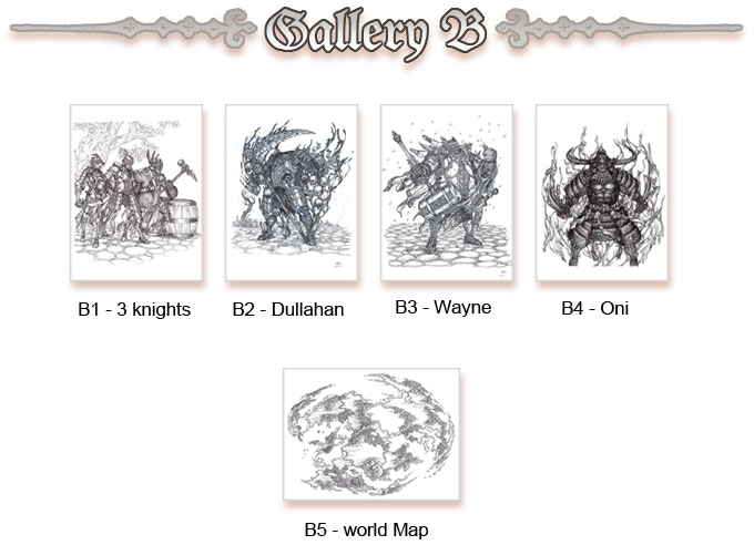 Original Sketches Gallery B (Click to enlarge)