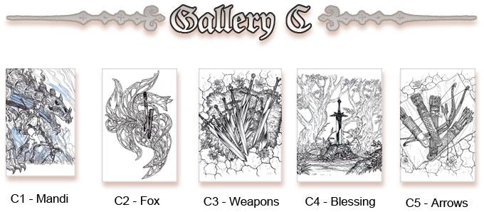 Original Sketches Gallery C (Click to enlarge)