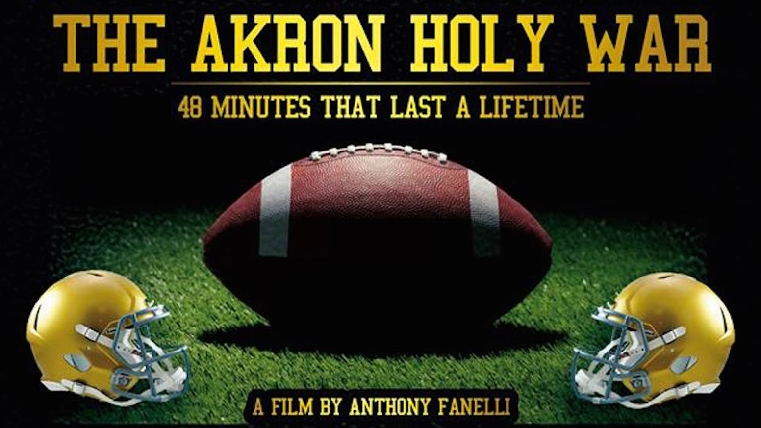 A full-length, narrative documentary film about the heated rivalry between two Akron, Ohio parochial high school football powerhouses.