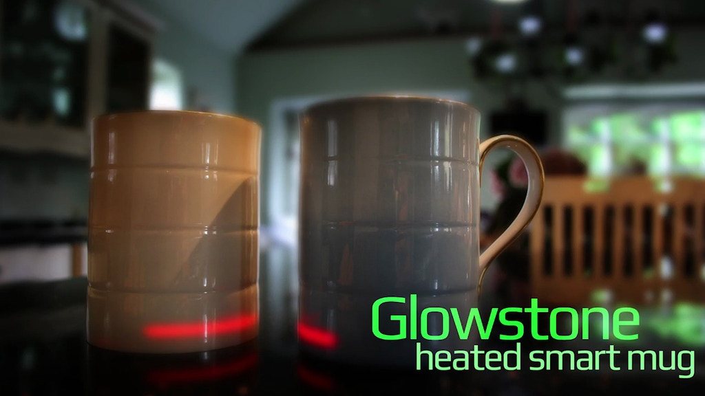 Glowstone Heated Smart Mug - Fine Bone China project video thumbnail