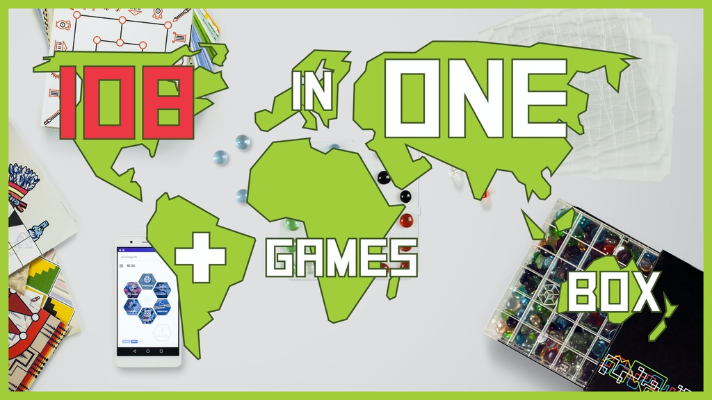 THE BEAD GAME: Play to gain a new kind of gaming experience project video thumbnail
