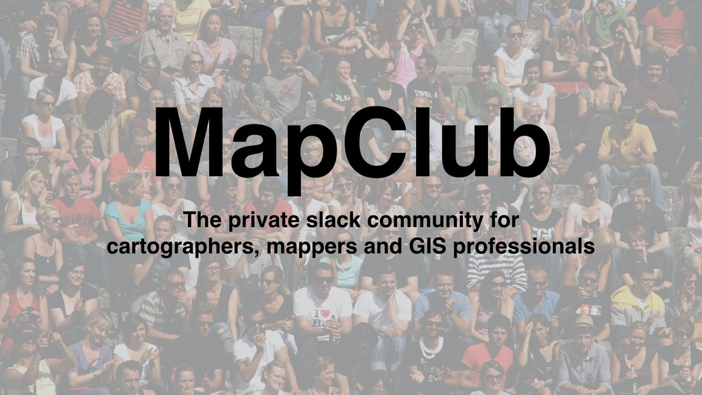 Project image for MapClub (Canceled)
