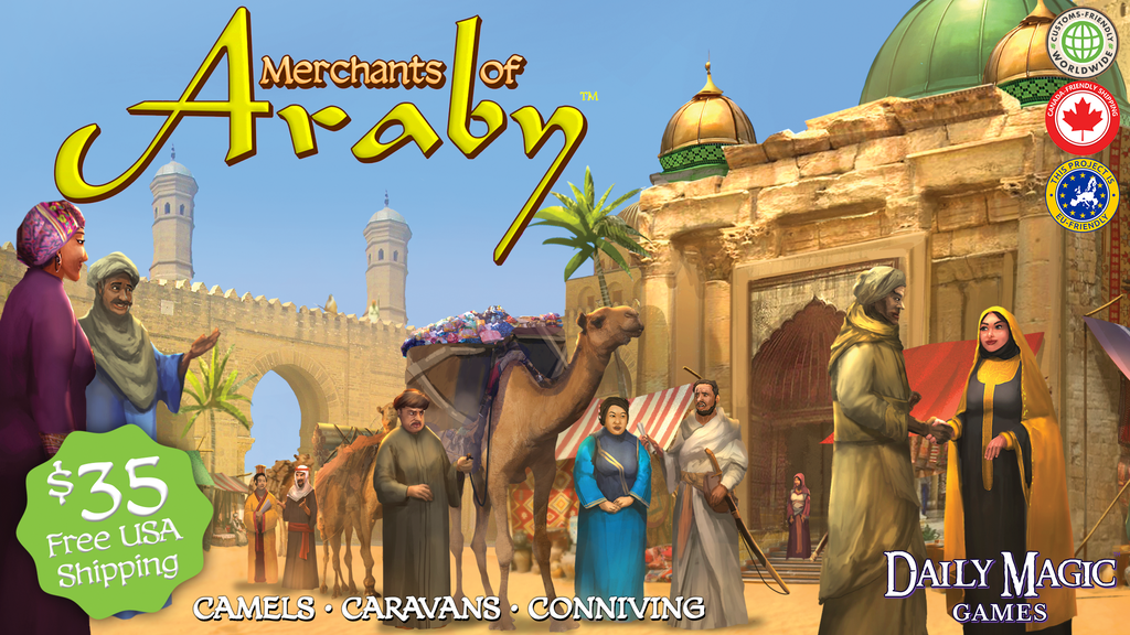 Merchants of Araby project video thumbnail