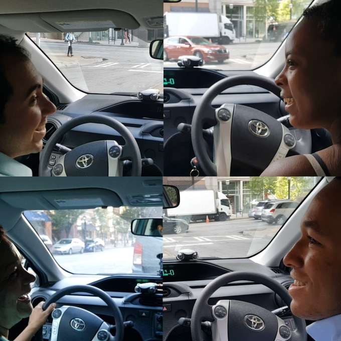 Driver-Safety App on EYSE: Now take your Robot eyes with you on the Road!