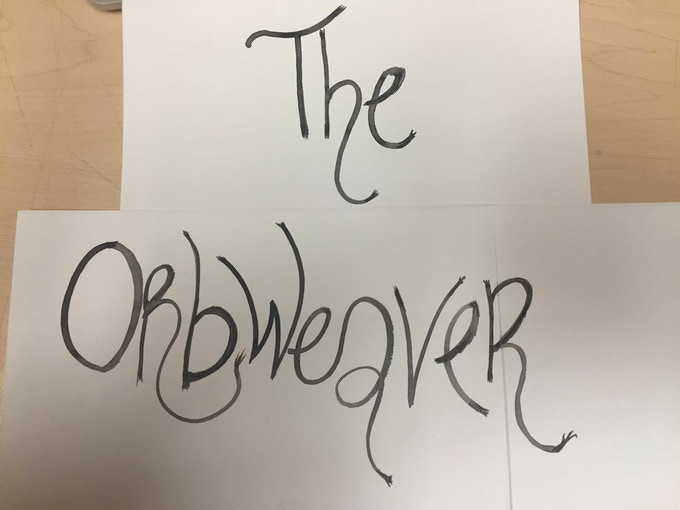 THE ORBWEAVER Logo sketches