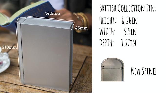 New Tea Tin Prototype