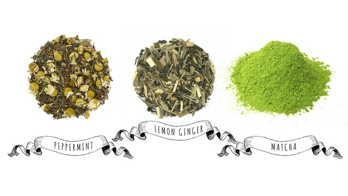 All natural organic tea blends, designed synesthesetically to evoke the themes of each novel.