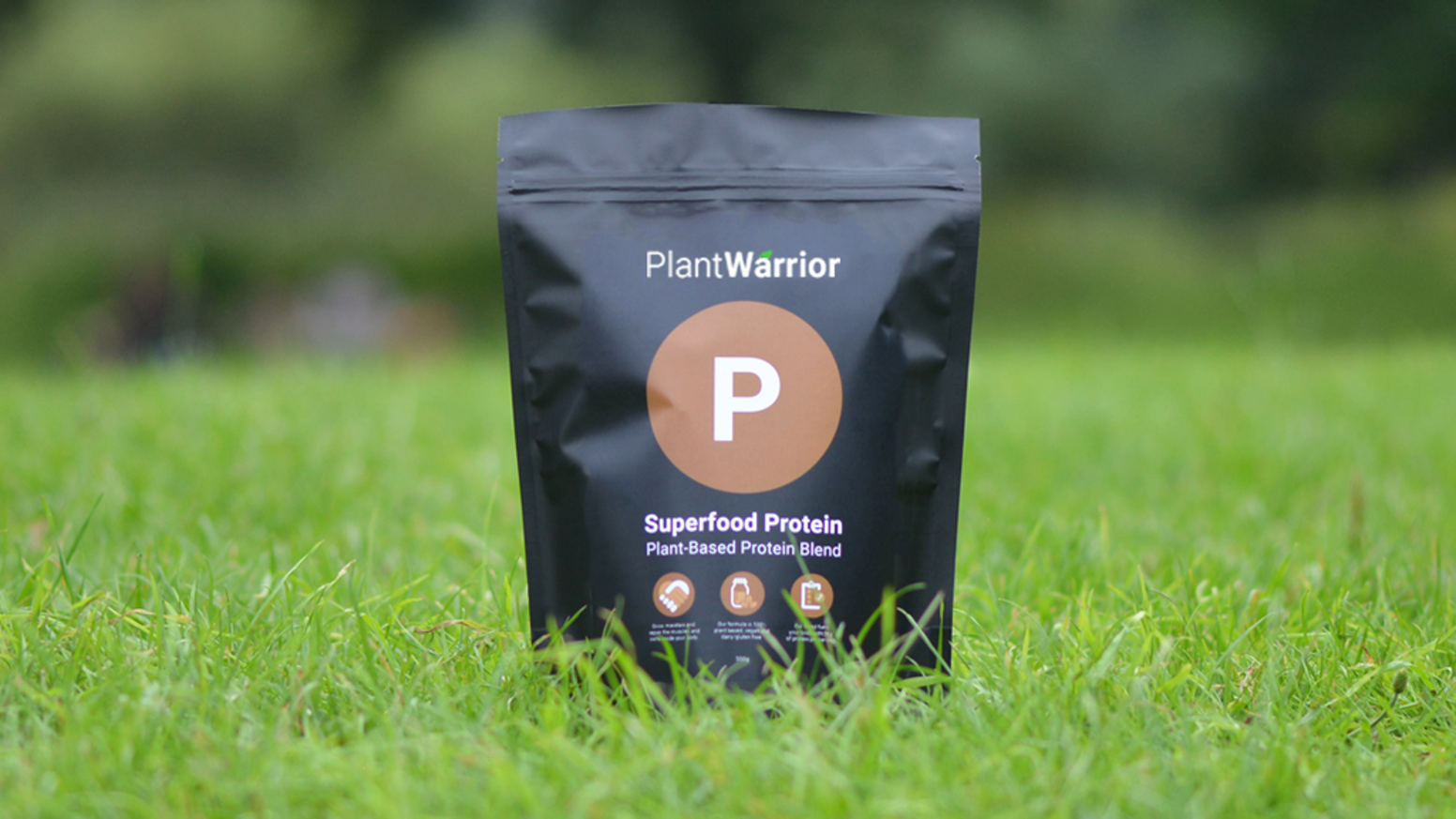 A 100% Vegan and Plant-Based Protein Powder, made from a natural blend of Chia, Rice, Quinoa, Pea and Hemp. Become a Plant Warrior.