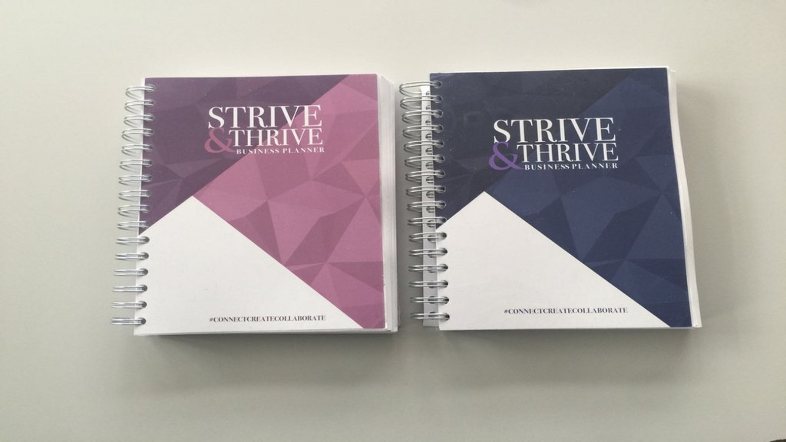 strive thrive daily business planner a5 by 1 less stress